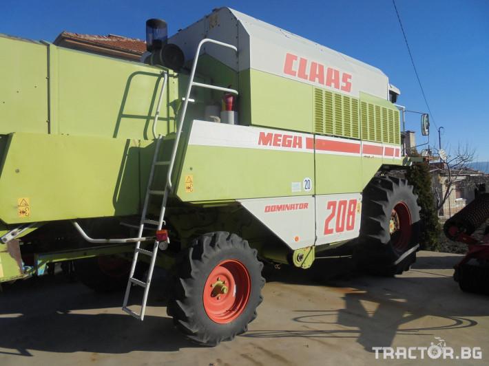 Комбайни Claas Мега 208 0 - Трактор БГ