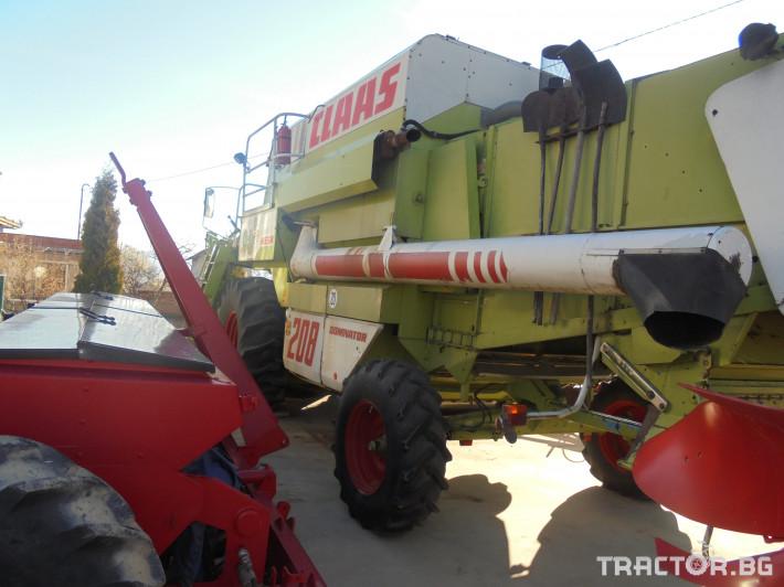 Комбайни Claas Мега 208 2 - Трактор БГ
