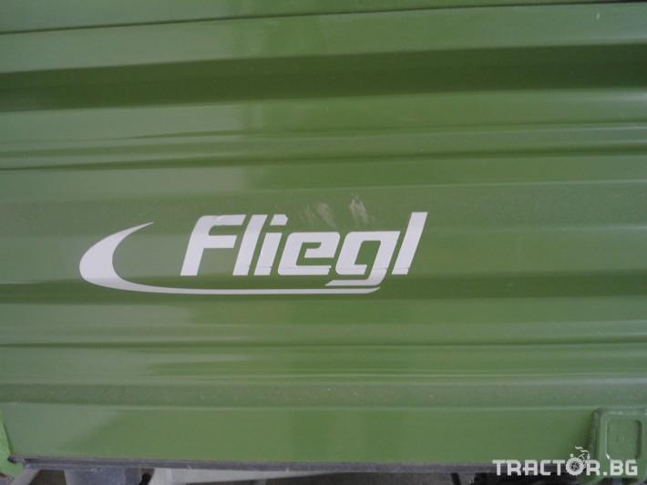 Ремаркета и цистерни Fliegl 8000 5 - Трактор БГ
