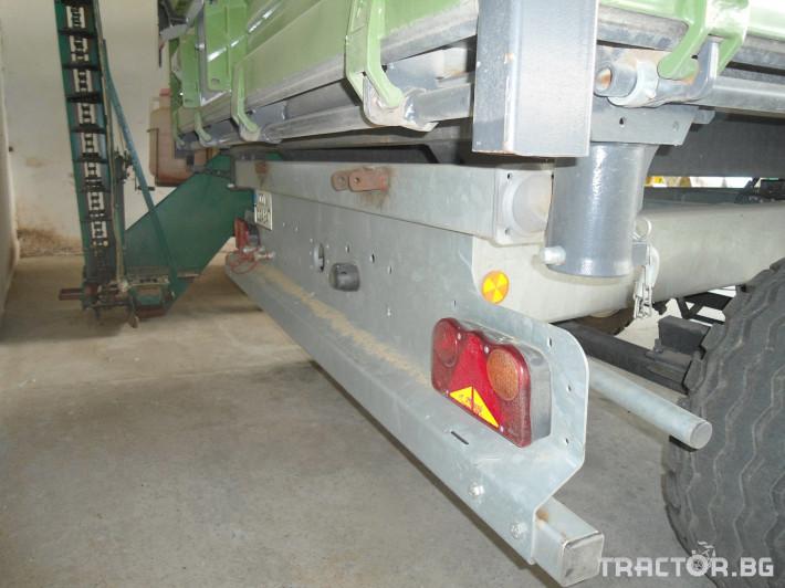 Ремаркета и цистерни Fliegl 8000 2 - Трактор БГ