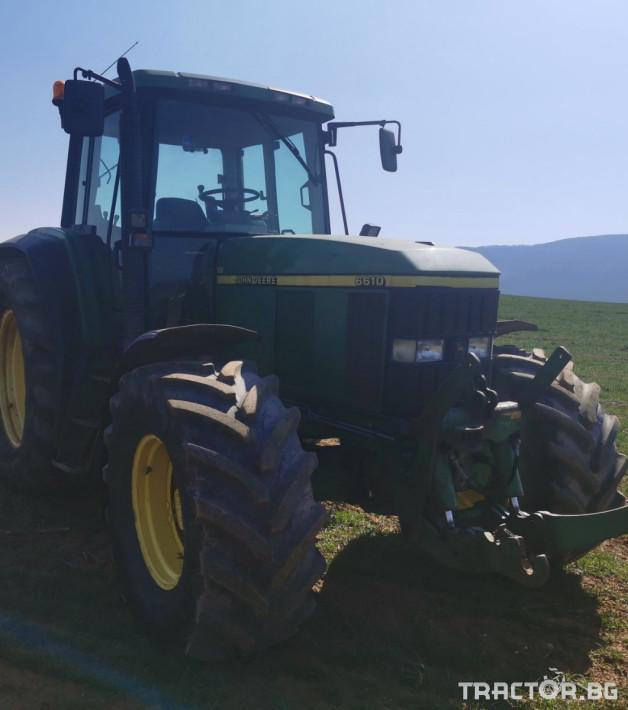 Трактори John-Deere 6610 5 - Трактор БГ